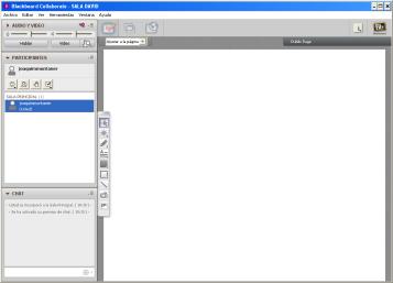 captura de pantalla de la sala de trabajo del seminario