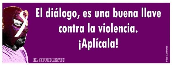 El diálogo es una buena llave contra la violencia. Aplícalo.