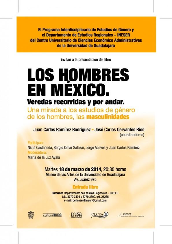 Cartel de difusión de la presentación del libro