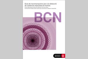 Portada y texto de la guía en catalán